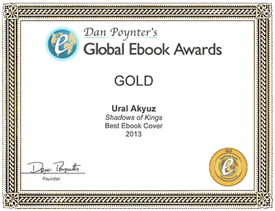 Ural Akyuz - Award - Global Gold Award, Dan Poytner's Book Cover Contest, Document